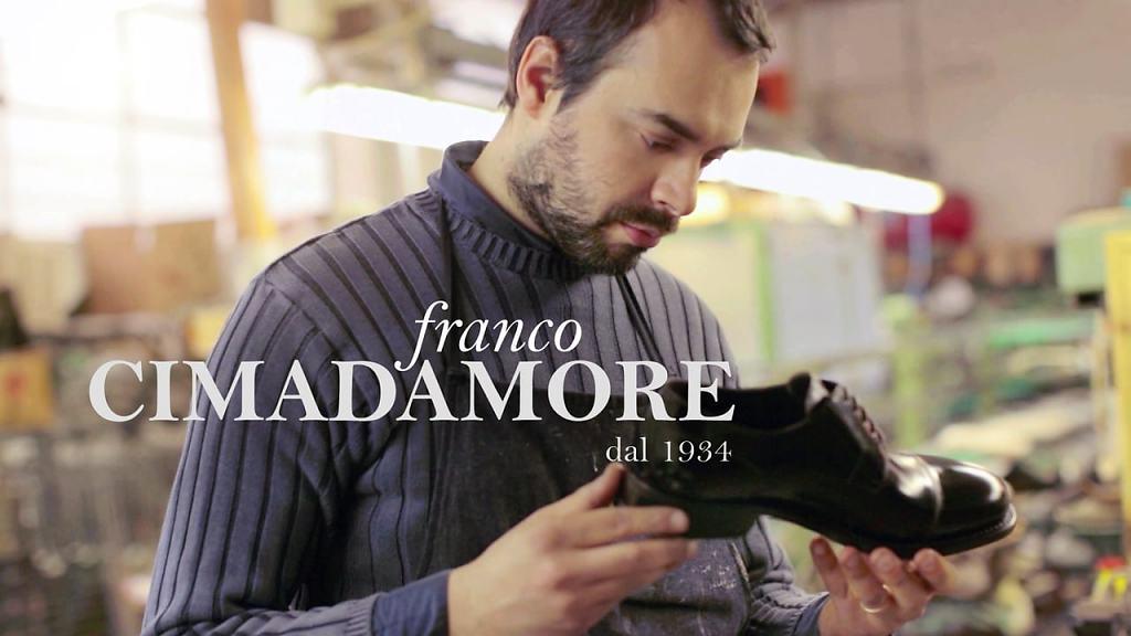 Franco Cimadamore - an Italian shoemaker