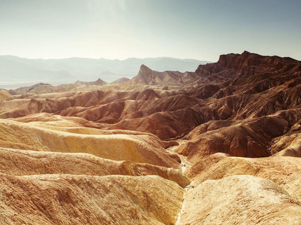 Zabrisky Point Death Valley USA 2014 - 66x50cm